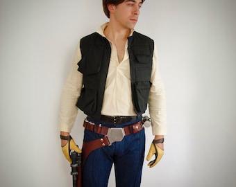 Smuggler Costume (Shirt, Vest, Pants)