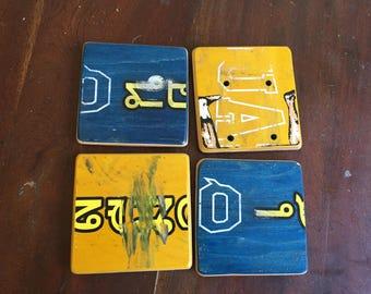 Quasi Skateboard coasters (set of 4)
