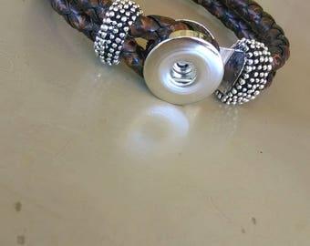 18mm snap bracelet