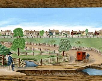 Crosswicks, New Jersey in 1844