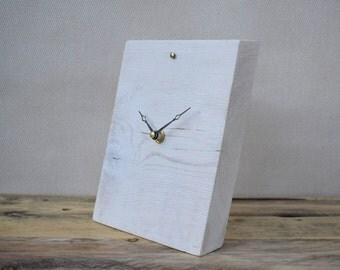 Desk Clock, Modern Clock, Wooden Clock, Handmade Clock, Small Table Clock, Clock, Modern Desk Clock, Small Clock, Table Clock, Rustic Clock