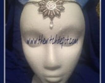 Pentacle with Drop Circlet