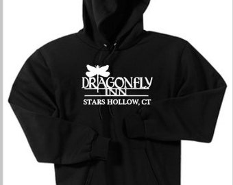 Dragonfly Inn  Stars Hollow, CT-Gilmore Girls -Sweatshirt Hoodies - available in many colors