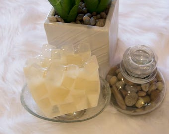 Gentleness - Clear and White Handcrafted Glycerin Soap