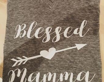 Blessed mama Tshirt