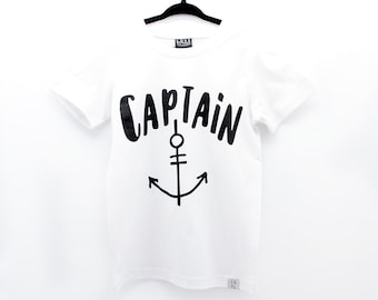 Captain T-shirt / Sailor / Ahoy