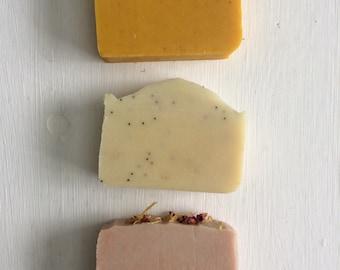3 Soap Bars