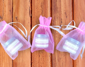 Baby Girl Shower Favors - Baby Shower Gifts - Whipped Sugar Scrub - Baby Shower Favors
