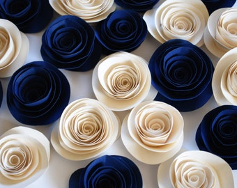 Navy Blue Wedding, Wedding Flowers, Navy Blue Wedding Decor