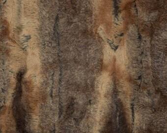 Cuddle Soft - Red Fox - Per Yd - Shannon Cuddle - Robert Kaufman - Cuddle Lux - Red Fox
