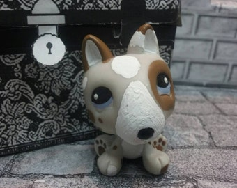 "FLASH Sale - OOAK LPS Custom ""Wishbone"" the Reading Dog."