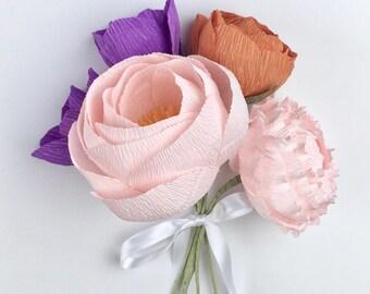 Kayla Paper Flower Bouquet