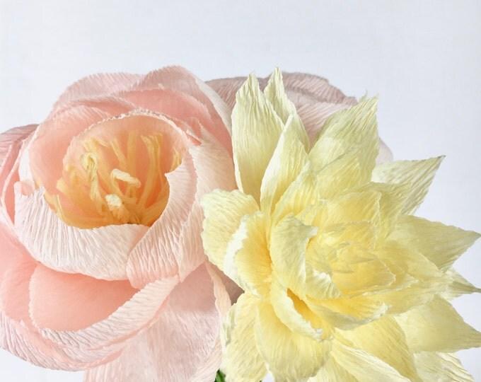 Riley Paper Flower Bouquet