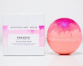 Pre-Order - PARADISI - Artisan Bath Bomb - Grapefruit + Pineapple + Jasmine