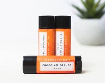CHOCOLATE ORANGE - Lip Balm - Dark Chocolate + Orange