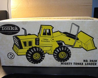 Excellent Vintage Toy Mighty Tonka Loader #3920