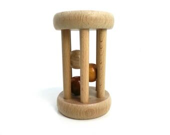 Rattle cage free pearls - toy baby