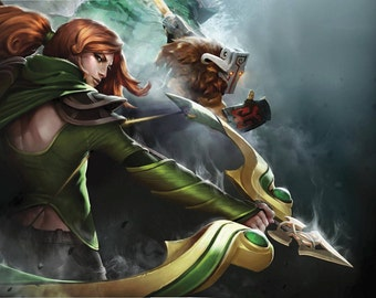 DISCOUNTED PRICE 50% + free shipping ! Dota 2 Windranger's Bow cosplay prop