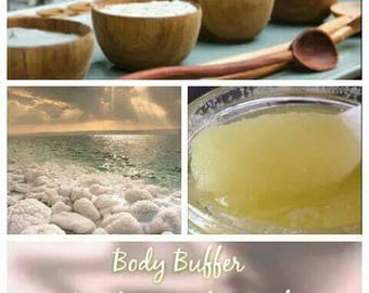 Body Buffer | Dead Sea Salt Scrub