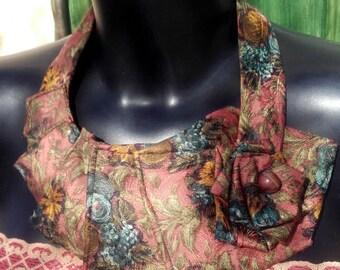 Collar tie flowers vintage