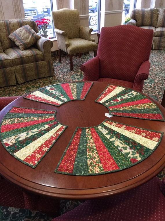 Items similar to Art Placemats, Round Table Placemats ...
