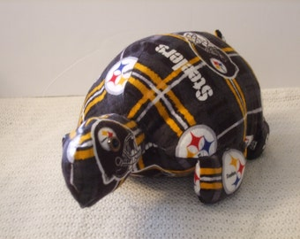 Steelers Turtle, Steelers Sea Turtle, Pittsburgh Turtle, Steelers Animal, Steelers Football,Pittsburgh football, stuffed turtle, toy turtle