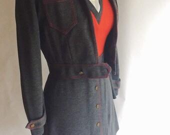 Vintage dress/jacket Combo