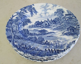 Vintage Ridgway Meadowsweet Dessert Plates