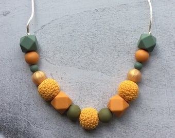 70's Colors Teething Necklace