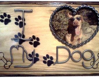 Personalized Pet Plaque, Custom Pet Portrait,  Custom Pet Photo, Dog Lover Gift