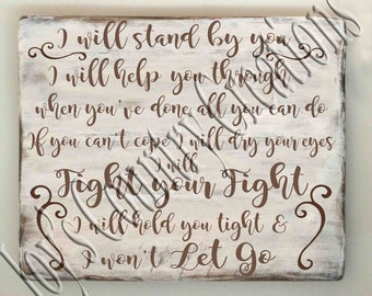 I will stand by you   SVG, PNG, JPEG
