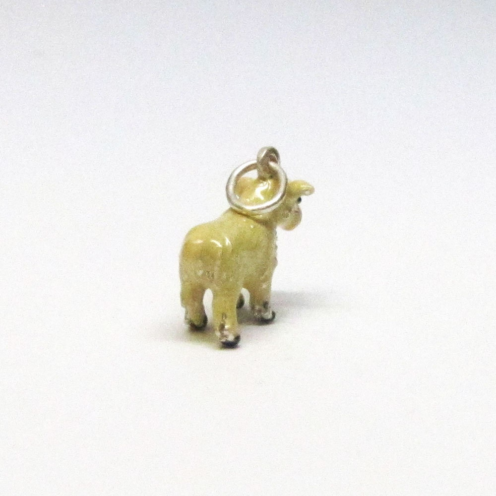 Lamb charm lamb necklace pendant sterling silver charms easter lamb charm lamb necklace pendant sterling silver charms easter gifts easter charms negle Images