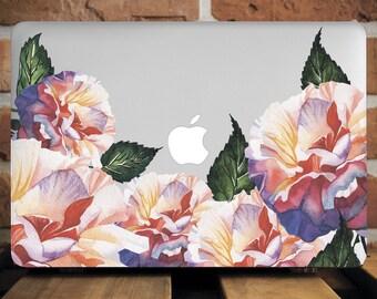 Watercolor Flowers MacBook Case MacBook Air Case 13 MacBook Pro Case 13 Inch New Floral MacBook Pro 15 Case MacBook Pro 13 Case WCm115
