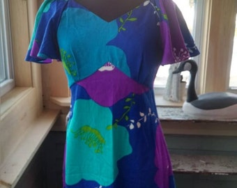 Vintage Pomare Hawaiian Dress!
