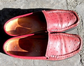 "OistrichleatherMocassin, Loafers, ""Liverpool"", M, good condition"