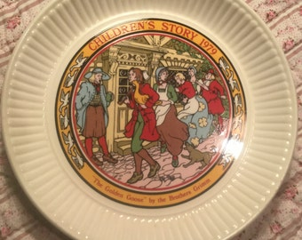Wedgwood Plate - The Goose Girl