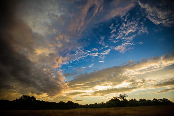 Zen Landscape Photography Sunset Nature Wall Art Sky Serene