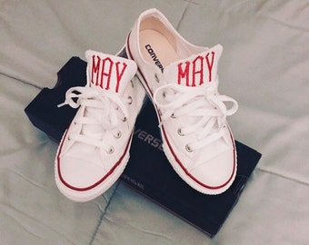 Personalized converse (kids size)