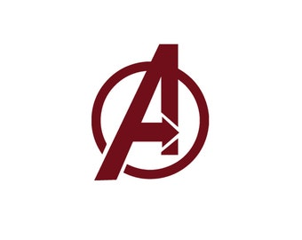 Avengers Vinyl Decal - Marvel Comics, Iron Man Decal, Black Widow, Captain America