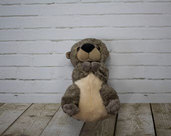 Beaver - Plush - Brown Beaver - Beaver Tail - Stuffed Beaver - Beaver Plush - Beaver Toy - Stuffed Animal - Plush Toy - Boy Gift - Boy Toy