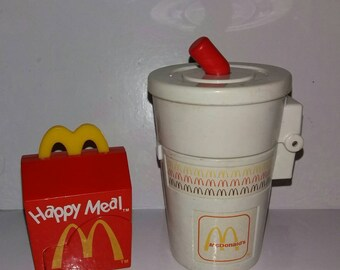McDonald's happy meal toys 1990,1996 lot of 2