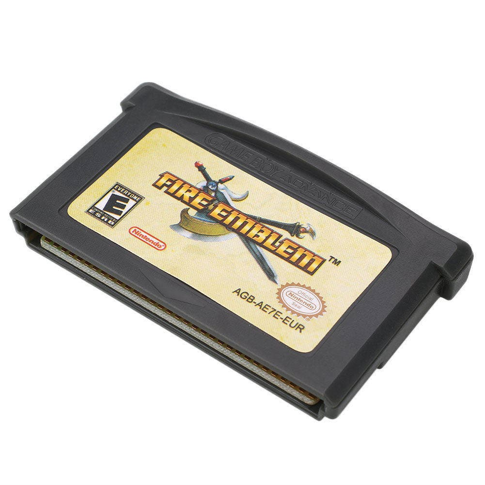 Gameboy color and advance rpg games - Fire Emblem 7 Blazing Sword Gba Repro Cartridge For Nintendo Game Boy Advance Rpg Cart Hard Mode Unlocked