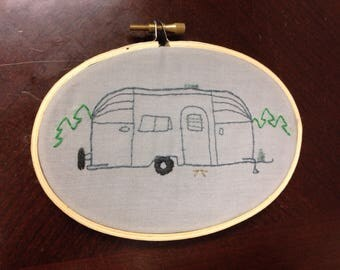 Simple airstream embroidery