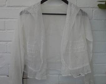 Edwardian Lace jacket