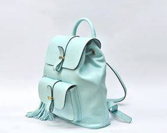 Women Leather backpack, backpack, leather rucksack, leather backpack women,  leather bag, hipster backpack, women backpack