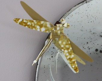 Dragonflies origami - paper