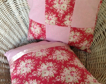 Romantic Cushion cover 35 x 35 cm pink