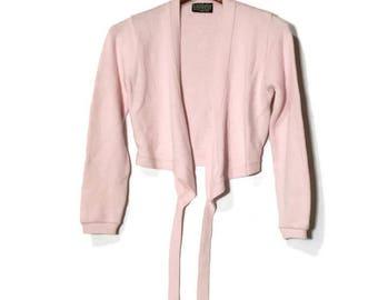 Ballet Sweater Wrap Dance Sweater Capezio Warm Up Sweater Vintage Dance Wear Skating SweaVintage Capezio Pink ter Pink Dance Sweater 80's