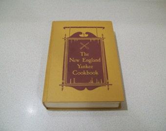 Vintage The New England Yankee Cookbook Reprinted 1939 Cookbook