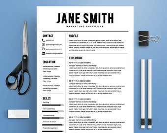 best resume template cv template cover letter ms word on mac pc - Best Template For Resume